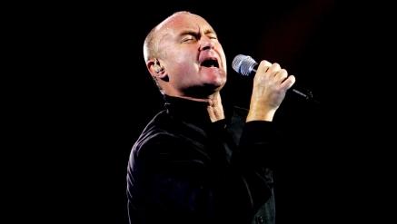 Phil Collins ao vivo em São Paulo