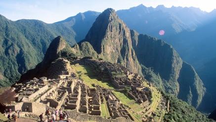 Pela Trilha Inca